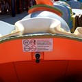 Fantasyland - Inside the Dumbo ride vehicle