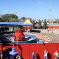Fantasyland - View of the second Dumbo still under construction