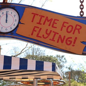 26 of 81: Fantasyland - FASTPASS clock for Barnstormer