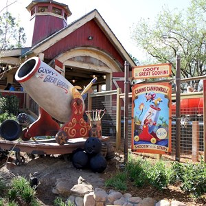 29 of 81: Fantasyland - Barnstormer queue area