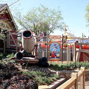 30 of 81: Fantasyland - Barnstormer queue area