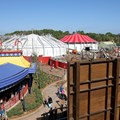 Fantasyland - Front row view from the Barnstormer