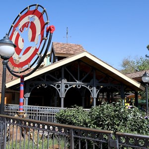 57 of 81: Fantasyland - Fantasyland station