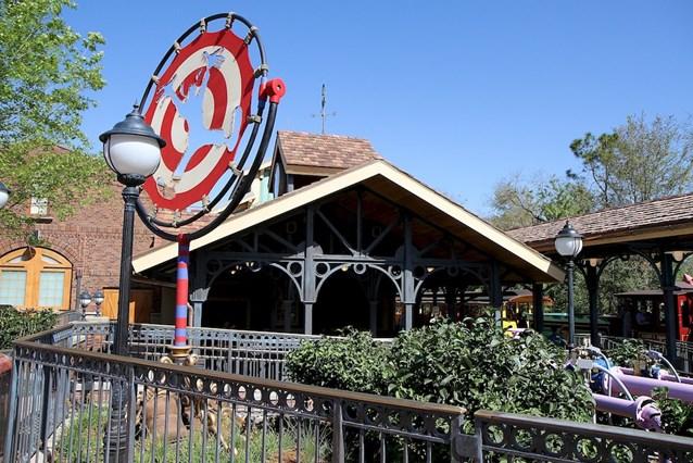 Fantasyland - Fantasyland station
