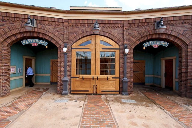 Fantasyland - New Fantasyland restrooms