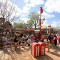 Fantasyland - After just an hour of opening crowds were everywhere