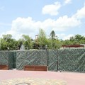 Fantasyland - New Fantasyland restrooms in the former skyway location