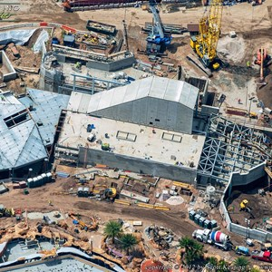 8 of 8: Fantasyland - Fantasyland aerial views of construction