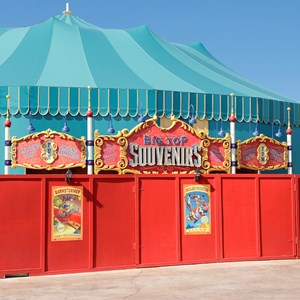 1 of 5: Fantasyland - Big Top Souvenirs in Storybook Circus