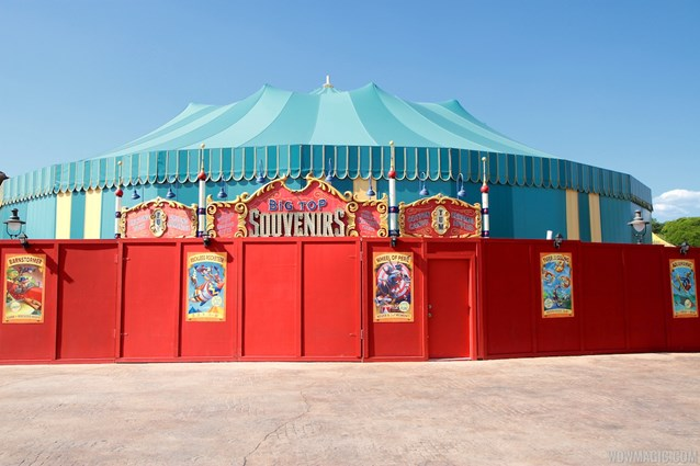 Fantasyland - Big Top Souvenirs in Storybook Circus