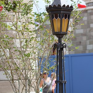 13 of 27: Fantasyland - Fantasyland Enchanted Forest castle wall light fixture