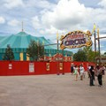 Fantasyland - New Storybook Circus entrance marquee