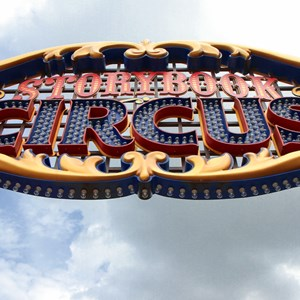 4 of 7: Fantasyland - New Storybook Circus entrance marquee