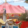 Fantasyland - Pete&#39;s Silly Sideshow signage in Storybook Circus