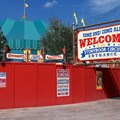 Fantasyland - Storybook Circus entrance signage left side