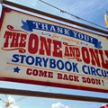 Fantasyland - Storybook Circus entrance signage exit side