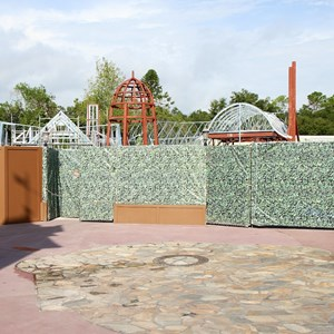2 of 6: Fantasyland - New Fantasyland restroom area construction
