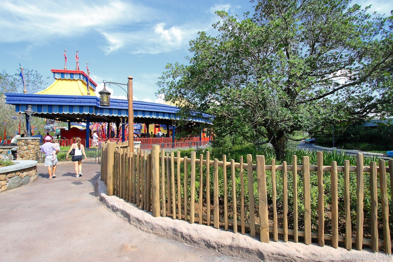 Storybook Circus to Tomorrowland fencing