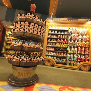 3 of 8: Fantasyland - First look inside Big Top Souvenirs
