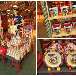 6 of 8: Fantasyland - First look inside Big Top Souvenirs