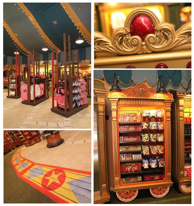 Fantasyland - First look inside Big Top Souvenirs