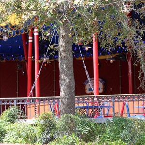 17 of 24: Fantasyland - Walls down at Big Top Souvenirs and Pete's Silly Sideshow