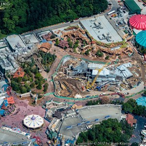 1 of 8: Fantasyland - Aerial views of new Fantasyland