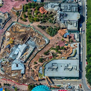 4 of 8: Fantasyland - Aerial views of new Fantasyland