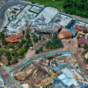 5 of 8: Fantasyland - Aerial views of new Fantasyland