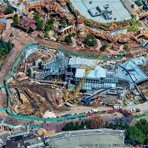 7 of 8: Fantasyland - Aerial views of new Fantasyland