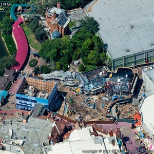 8 of 8: Fantasyland - Aerial views of new Fantasyland
