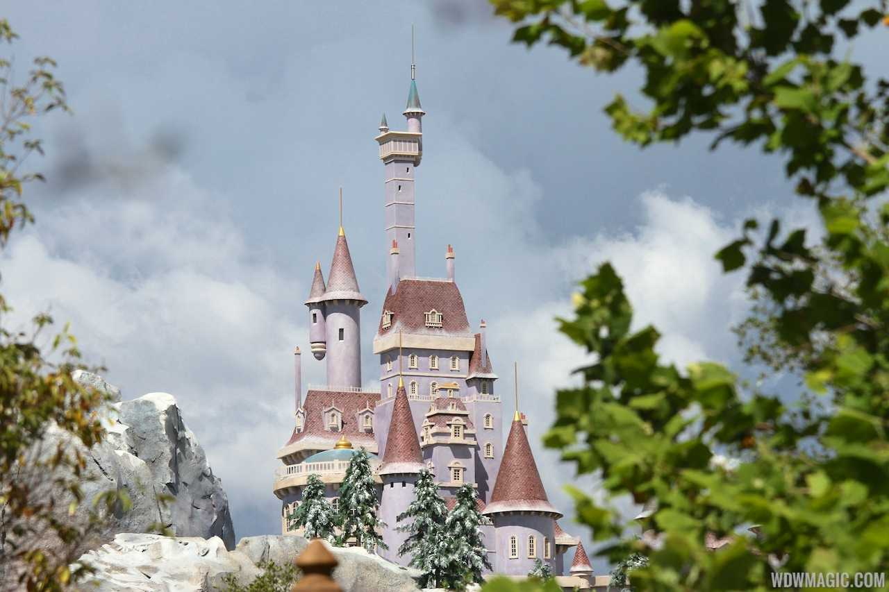Beast's Castle in the New Fantasyland