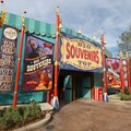 Fantasyland - Big Top Souvenirs opening day - side entrance