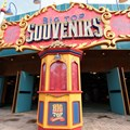 Fantasyland - Big Top Souvenirs opening day - main entrance