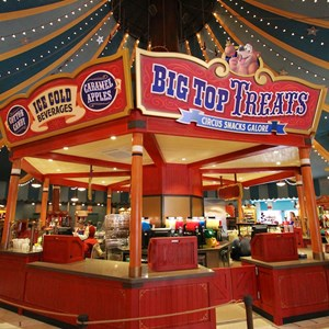 4 of 35: Fantasyland - Big Top Souvenirs opening day - Big Top Treats kitchen