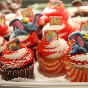 10 of 35: Fantasyland - Big Top Souvenirs opening day - exclusive cupcakes