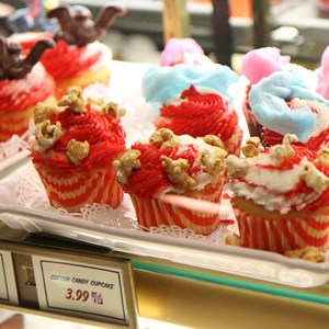 17 of 35: Fantasyland - Big Top Souvenirs opening day - exclusive cupcakes