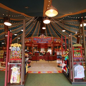 18 of 35: Fantasyland - Big Top Souvenirs opening day