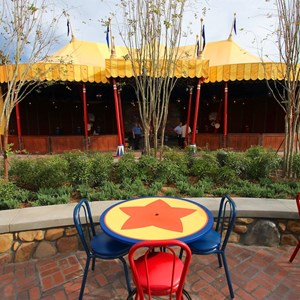 1 of 21: Fantasyland - Storybook Circus third big top