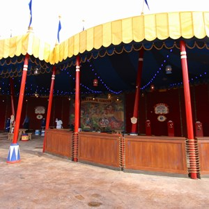 2 of 21: Fantasyland - Inside Storybook Circus third big top