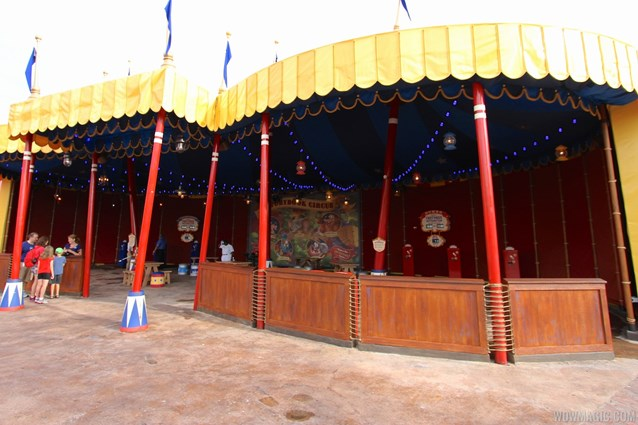 Fantasyland - Inside Storybook Circus third big top
