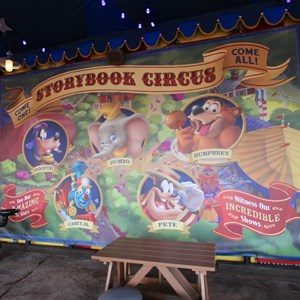 4 of 21: Fantasyland - Storybook Circus park area