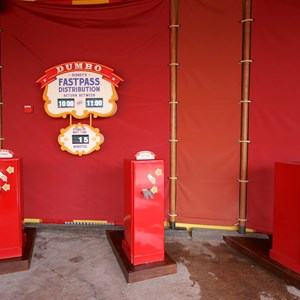 6 of 21: Fantasyland - Storybook Circus third big top - FASTPASS distribution for Dumbo