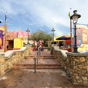 16 of 21: Fantasyland - Storybook Circus park area