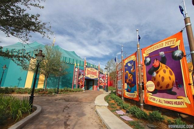 Fantasyland - Storybook Circus