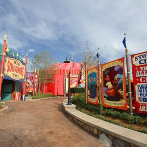 18 of 21: Fantasyland - Storybook Circus park area