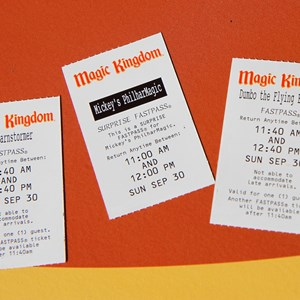 1 of 4: Fantasyland - Storybook Circus FASTPASS tickets