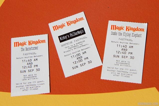 Fantasyland - Storybook Circus FASTPASS tickets