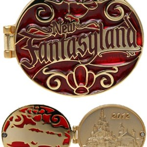 1 of 5: Fantasyland - New Fantasyland commemorative collection - Hinged Pin