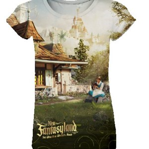 2 of 5: Fantasyland - New Fantasyland commemorative collection - Women's Fitted Sublimation Tee